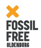 Logo von Fossil Free Oldenburg - Bündnis Oldenburg klimaneutral